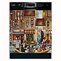 Appliance Art 'Bad Habits in Venice' Dishwasher Cover