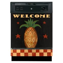 Appliance Art 'Pineapple Folk Art' Dishwasher Cover