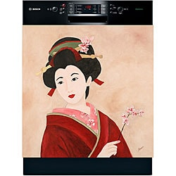 Appliance Art 'Geisha Girl' Dishwasher Cover
