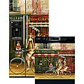 Appliance Art 'Girlfriends in Paris' Dishwasher and Refrigerator Cover Combo
