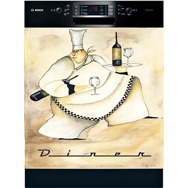 Appliance Art 'Diner Chef' Dishwasher Cover