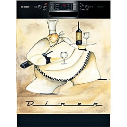 Appliance Art 'Diner Chef' Dishwasher Cover