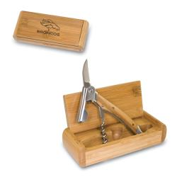 Elan Bamboo Denver Broncos Corkscrew and Box