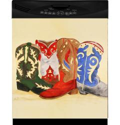 Appliance Art 'Cowboy Boots' Dishwasher Cover