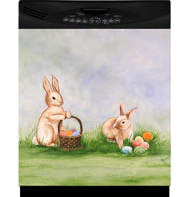 Appliance Art 'Easter Bunnies' Dishwasher Cover