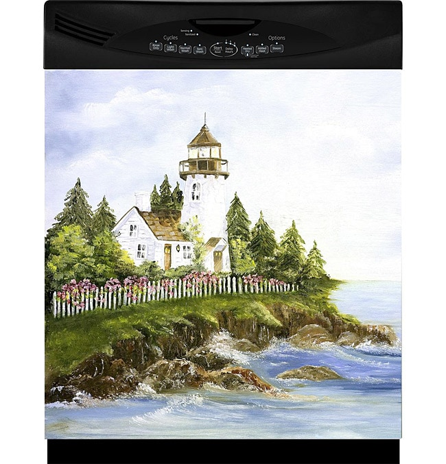 Appliance Art 'New England Lighthouse' Dishwasher Cover