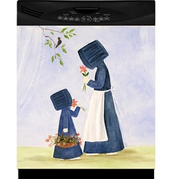 Appliance Art 'Amish Women' Dishwasher Cover