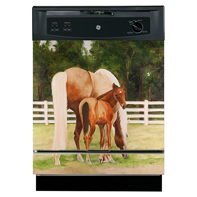 Appliance Art 'Horse and Colt' Dishwasher Cover