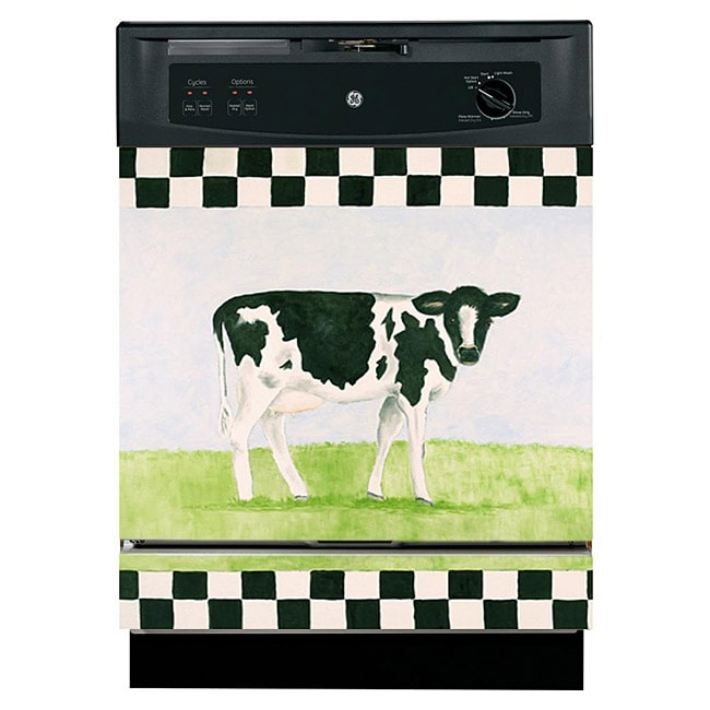Appliance Art 'Cow and Checkers' Dishwasher Cover
