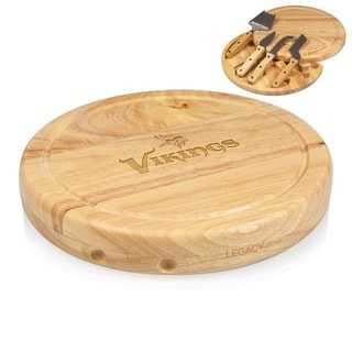 Picnic Time Minnesota Vikings Circo Cheese Board Set