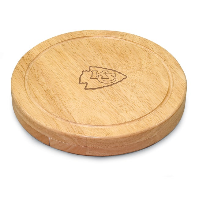 Picnic Time Kansas City Chiefs Circo Cheese Board Set
