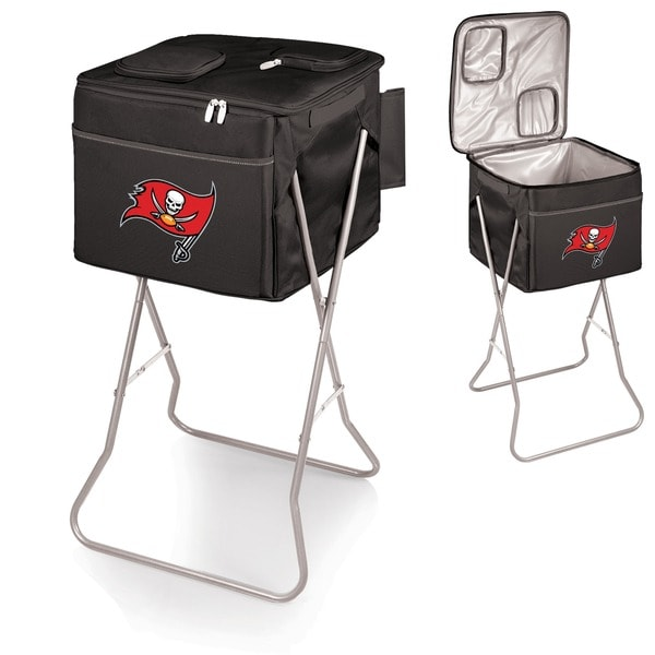 Picnic Time Tampa Bay Buccaneers Black Party Cube