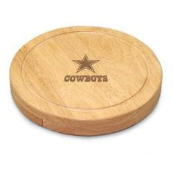 Picnic Time Dallas Cowboys Circo Cheese Board Set