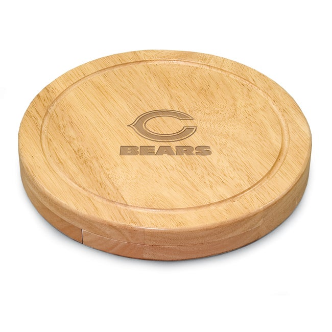 Picnic Time Chicago Bears Circo Cheese Board Set