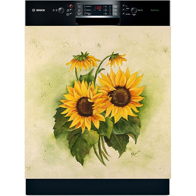 Appliance Art 'Sunflowers' DA Dishwasher Cover