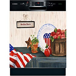 Appliance Art 'God Bless America' Dishwasher Cover