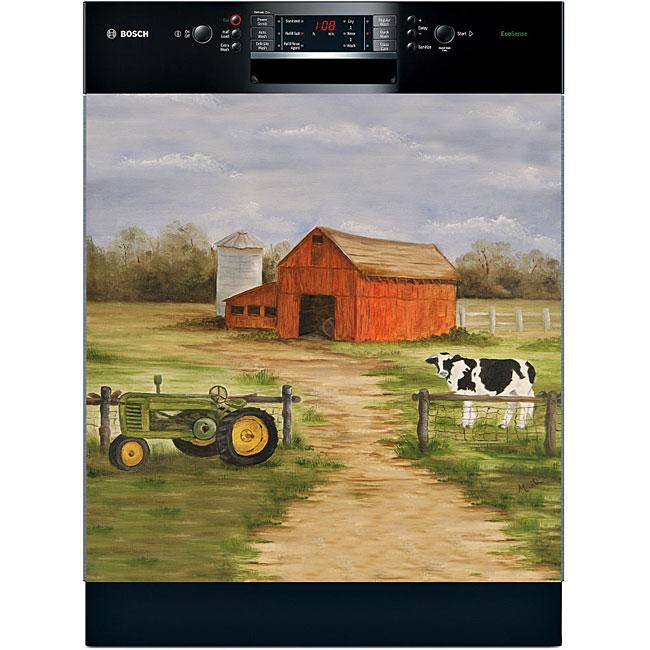 Appliance Art 'Farm Scene' Dishwasher Cover