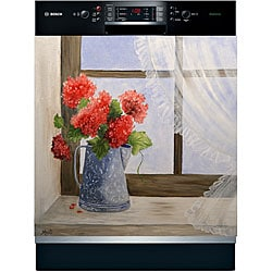 Appliance Art 'Country Floral' Dishwasher Cover