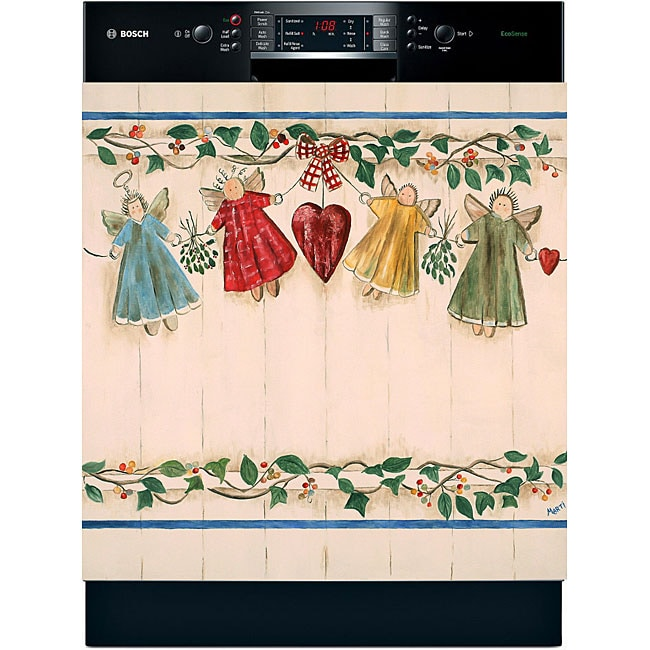 Appliance Art 'Angels & Ivy' Dishwasher Cover