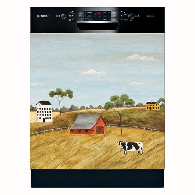 Appliance Art 'Cow and Barn' Dishwasher Cover