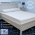 HealthGuard Bed Protector Ultra Plush Queen-size Mattress Protector