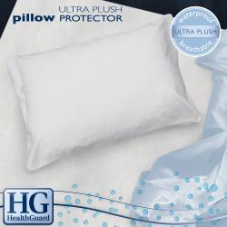 HealthGuard Bed Protector Ultra Plush Jumbo-size Pillow Protectors (Set of 2)