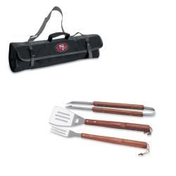 San Francisco 49ers 3-pc BBQ Tote Bag Set