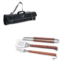 Picnic Time Houston Texans 3-piece BBQ Tote