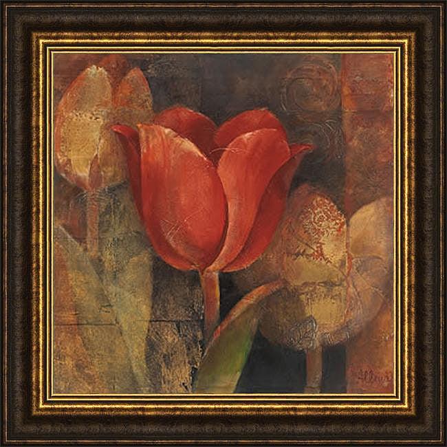 Albena Hristova 'Tulip Reflection' Framed Print Art
