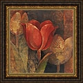 Albena Hristova 'Tulip Reflection' Framed Print Art