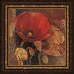 Albena Hristova 'Poppy Reflection' Framed Print Art