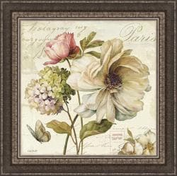 Lisa Audit 'Marche de Fleurs II ' Framed Print Art