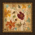Silvia Vassileva 'Antique Embroidery I' Framed Print Art