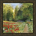 Carol Rowan 'Field of Flowers' Framed Print Art
