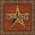 Peter Horjus 'Lone Star' Framed Print Art