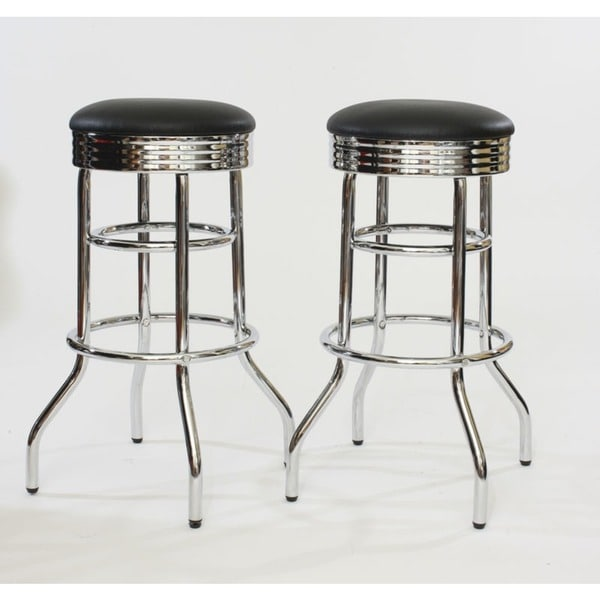 Trinity Chrome Swivel Bar Stools Set of 2 : Trinity Chrome Swivel Bar Stools Set of 2 6b8d61b3 b641 4e4b 9bce f5a513e5a4d9600 from www.overstock.com size 600 x 600 jpeg 24kB