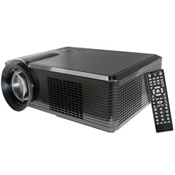 Pyle Portable LED Projector for Gaming TV Shows Movies and Sports at Up To 100 Inches / Supports HD Input