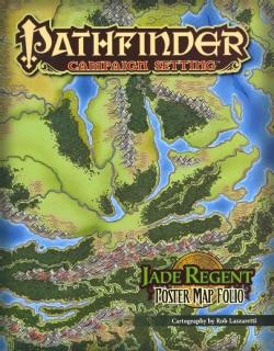 Jade Regent Poster Map Folio (Sheet map)