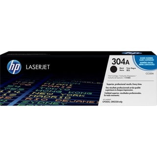 HP 304A (CC530AG) Black Original LaserJet Toner Cartridge for US Gove