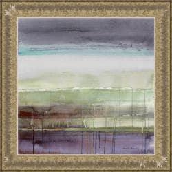 Lanie Loreth 'Purple Rain I' Framed Print Art