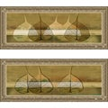 Patricia Pinto 'Less is More III & IV' Framed Print Art