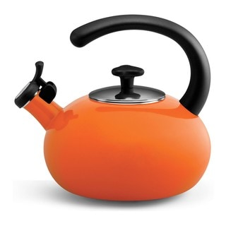 Rachael Ray Orange 2-quart Curve Teakettle