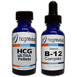 HCG Ultra Alternative Pellets 43-day Program with Vitamin B12