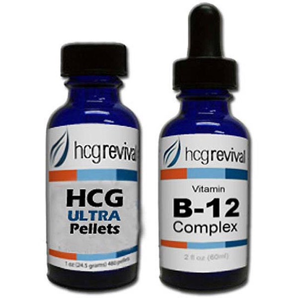 HCG Ultra Alternative Pellets 43-day Program with Vitamin B12