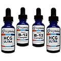 HCG Alternative Ultra Drops Couples Program Kit with Vitamin B12