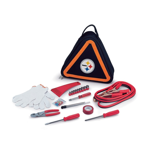 Picnic Time Pittsburgh Steelers Roadside Emergency Kit