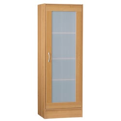 Talon Multipurpose Single Frosted Door Storage Cabinet
