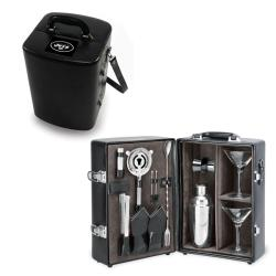Picnic Time New York Jets Black Manhattan Cocktail Case