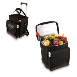 Picnic Time Black St. Louis Rams Cellar with Trolley