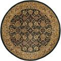 Hand-Tufted Traditional Mandara New Zealand Wool Area Rug (7'9 Round)